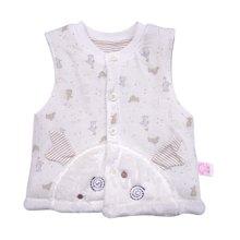 丑丑婴幼 春季新款时尚女宝宝棉背心6个月-2岁