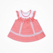 丑丑婴幼女童无袖背心娃娃连衣裙夏季新款女宝宝公主背心连衣裙
