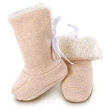 欧淘羊羔绒宝宝护脚套有机棉秋冬款