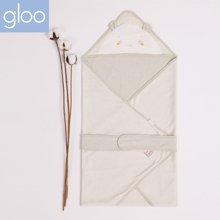 G100寄意百宝宝用品双面两用婴儿初新生儿抱被襁褓巾印花小被子