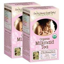 【2盒装】美国Earth Mama Angel Baby地球妈妈天使宝贝 天然有机催奶茶 16包/盒 追奶增奶