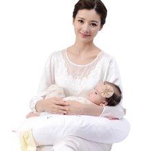 乐孕哺乳枕头多功能哺乳枕喂奶枕孕妇枕婴儿护腰哺【买一送四】