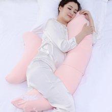乐孕纳米粒子月亮型孕妇枕