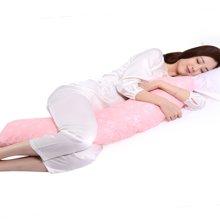 乐孕J型孕妇枕头护腰枕侧睡枕托腹用品