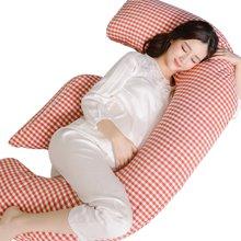 乐孕F型侧睡枕哺乳枕孕抱枕