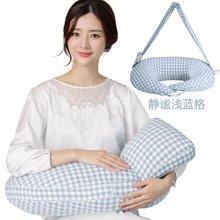 乐孕 升级背带款多功能立体哺乳枕