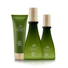 十月天使 孕妇护肤品 橄榄面护三件套 滋养保湿