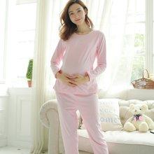 妃孕宝 春秋装新款宽松长袖家居服喂奶衣月子服孕妇装两件套睡衣573087A1145