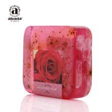 法国abada雅比特玫瑰美白补水去斑祛黑色素洁面精油手工皂105g