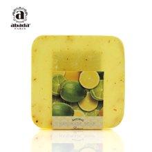 法国abada雅比特柠檬 美白控油祛痘印去黑头洁面精油手工皂105g