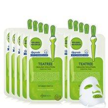 【2盒装】韩国MEDIHEAL/美迪惠尔(可莱丝) 茶树油精华修护针剂面膜