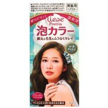 【香港直邮】日本花王Liese Prettia泡沫染发剂(不遮盖白发年轻染发者适用)*1盒