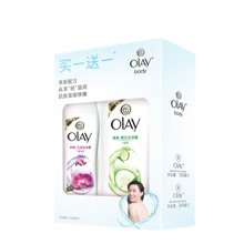 玉兰油水嫩清爽和舒缓清爽沐浴露组合装CX(720ml+200ml)