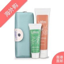 Lafes西柚柠檬护手霜75ml+绿茶青柠护手霜30ml