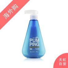 韩国LG生活健康倍瑞傲 46厘米挤压式液体美白清新牙膏薄荷味(285g)