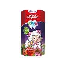 高露洁妙妙刷儿童牙膏(6岁以上香香草莓味7)(70g)