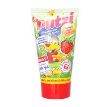 【德国】putzi普奇儿童牙膏 宝宝可吞咽牙膏 50ml/支 草莓味