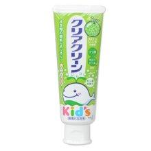 【日本】KAO花王 幼儿无氟可吞咽哈密瓜味牙膏 70g/支