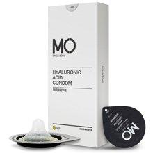 名流避孕套安全套 MO玻尿酸9只装 超薄润滑成人情趣性用品男用