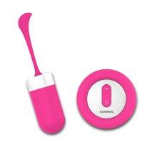 诺兰nalone蓝精灵 无线遥控跳蛋 g点按摩棒 震动棒女用 成人情趣用品 女性享品 樱桃粉