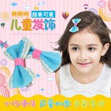 姣兰 儿童发夹发饰 边夹女童刘海夹 皮筋 可爱头饰 颜色随机