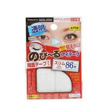 【2袋装】日本大创/Daiso 双眼皮贴 透明纤细型 红色 86枚