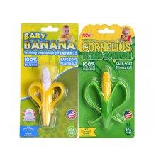 【2件组合】香蕉宝宝Baby Banana 牙胶磨牙棒 香蕉+玉米款
