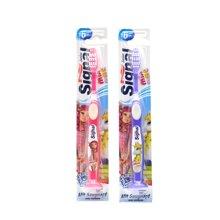 【2支装】【德国】Signal洁诺 儿童吸盘式站立软毛牙刷(颜色随机)6岁以上