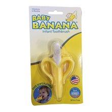 美国 Baby Banana香蕉宝宝 婴儿牙胶一段(带手柄)(1件)