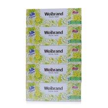 V2002维达威牌盒巾纸(100抽*5盒/提)
