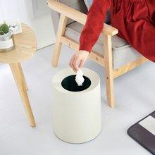 阡佰家 双层分类圆形垃圾桶