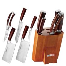 爱仕达ASD不锈钢套刀厨房六件套装切肉刀菜刀水果刀剪刀已开锋902606
