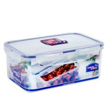 乐扣乐扣(LOCK&LOCK)塑料保鲜盒大容量长方形微波炉饭盒冰箱储物收纳盒相机盒医药箱 HPL817H(1.4L)