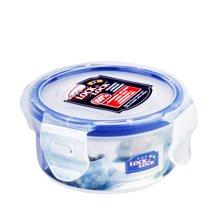 乐扣乐扣(lock&lock)塑料圆形保鲜盒密封防漏冰箱收纳盒休闲食品燕麦储物盒 HPL931(100ML)