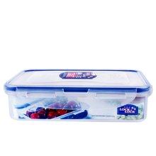 乐扣乐扣(LOCK&LOCK)保鲜盒塑料微波炉饭盒长方形密封盒冰箱收纳盒水果便当盒 800ml 长方形HPL816