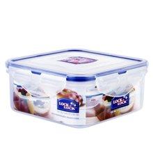 乐扣乐扣 塑料保鲜盒方形饭盒600ml大容量便当盒 HPL854