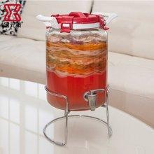 居元素玻璃密封罐厨房家用透明酵素罐大容量腌制泡菜罐子 阿波罗