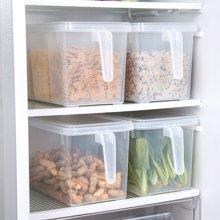 3L大容量厨房食品食物分类储物罐带手柄果蔬食品保鲜盒储物