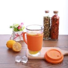 GlasslockRC107 韩国进口钢化玻璃水杯茶杯咖啡杯办公杯牛奶杯380ml