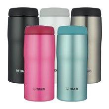 专柜同款 TIGER虎牌保温杯日本制造不锈钢保冷杯 原装进口男女时尚办公水杯子MJA-A036