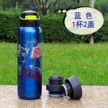【保温保冷2用杯】正品迪士尼500ml新潮极限运动水杯保温水壶(买一壶送两盖头)-GX-5719