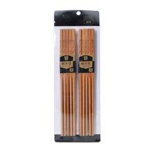 菲尔芙榉木筷10双装WMK-2958(250mm*6.5mm*4.5mm)