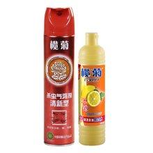 ¥榄菊杀虫气雾剂 (柠檬)(600ml)