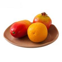 壳氏唯HUSKSWARE 稻壳环保 韩式创意四方碟 水果/蔬菜/零食/甜