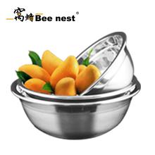 不锈钢汤盆套装,20.22.24防滑加厚电磁炉通用套装汤盆