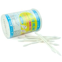 姣兰 卫生棉签 美容棉花签 化妆使用棉签 尖头 圆头的棉花棒