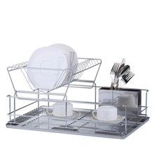 雅客集车头式高档碗盘架ML-14013 厨房置物碗筷沥水架