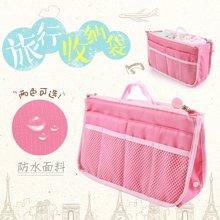 姣兰 旅行收纳袋 双拉链大容量防水化妆包 行李箱整理收纳包