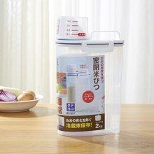 阡佰家 厨房储物密封米罐 储米箱面粉桶小米桶防虫防潮密封罐 带量杯