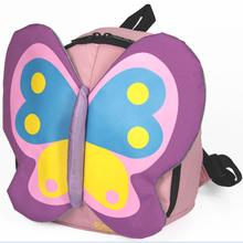 瑞士十字SWISSWIN 儿童学生蝴蝶款棉纶双肩背包女(SWK1001B)